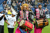 30th September 2017, The Hawthorns, West Bromwich, England; EPL Premier League football, West Bromwich Albion versus Watford; A local band entertain as the players walk out of the tunnel