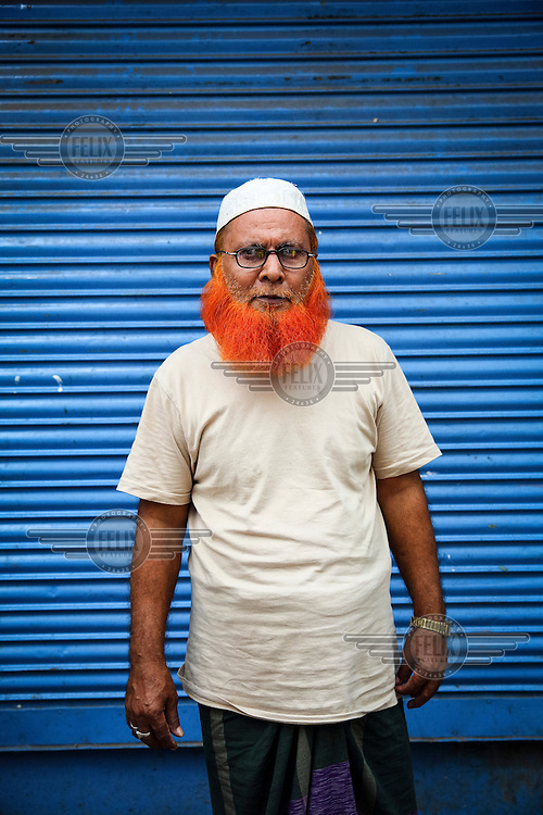 'It's our Sunnat. Our Prophet Muhammad used it' &ndash; Gias Uddin.<br /> <br /> It is very common in Bangladesh to see older people with dyed orange hair, men with orange beards or orange moustaches and women with orange hair. The dye used is from the flowering Henna plant. The practice comes from the widely held belief that the Prophet Muhammad dyed his beard and hair. It is also common among people returning from Hajj. Some Muslims believe that henna is the only dye they are free to use for colouring their hair.