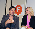 "As The World Turns' Austin Peck & Terri Conn at ""The F"" held a Benefit for the film on June 22, 2018 at the Freeman Studio, New York City, New York. (Photo by Sue Coflin/Max Photo)"