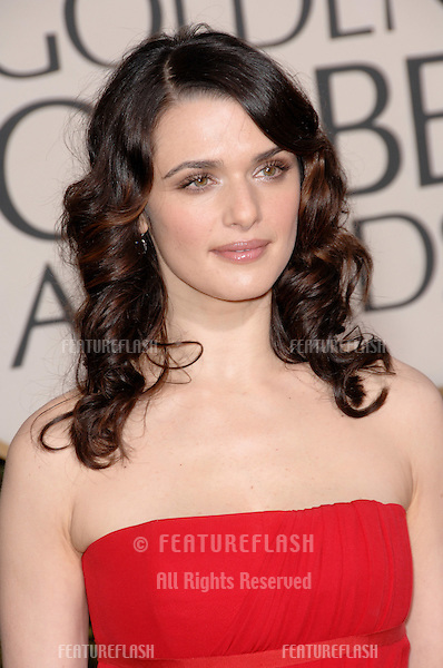 RACHEL WEISZ at the 64th Annual Golden Globe Awards at the Beverly Hilton Hotel..January 15, 2007 Beverly Hills, CA.Picture: Paul Smith / Featureflash