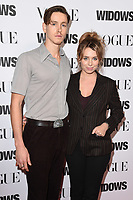 "LONDON, UK. October 31, 2018: Harris Dickinson & Rose Gray at the ""Widows"" special screening in association with Vogue at the Tate Modern, London.<br /> Picture: Steve Vas/Featureflash"