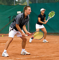 19-08-11, Tennis, Amstelveen, Nationale Tennis Kampioenschappen, NTK, Bobbie de Goeijen en Bibiane Schoofs