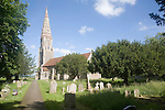 Parish church of Saint Andrew, Great Finborough, Suffolk, England, UK