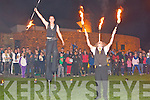 FIRE; Ronaldo Fanzine and Aiden Realta given a display of the fire skills at the Town Park on Friday evening in Conjuction with Culture Night 2012, Tralee with a large crowd attended.