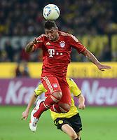 FUSSBALL   1. BUNDESLIGA   SAISON 2011/2012   30. SPIELTAG Borussia Dortmund - FC Bayern Muenchen            11.04.2012 Jerome Boateng (FC Bayern Muenchen)