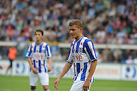 VOETBAL: HEERENVEEN: Abe Lenstra Stadion, 02-09-2012, Eredivisie 2012-2013, SC Heerenveen - Ajax, Eindstand 2-2, Alfreð Finnbogason (#11 | SCH), ©foto Martin de Jong