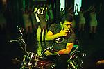 INDIA,Chennai Madras, Mallywood the tamil film industry, film shooting with Ajith Kumar in AVM studios / INDIEN, Chennai frueher Madras, Filmset mit Ajith Kumar im AVM Filmstudio, die Filmindustrie in Tamil Nadu wird auch Mallywood genannt