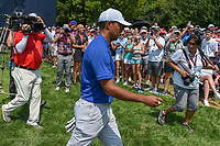 Tiger Woods (USA) heads to 9 during 3rd round of the 100th PGA Championship at Bellerive Country Club, St. Louis, Missouri. 8/11/2018.<br /> Picture: Golffile | Ken Murray<br /> <br /> All photo usage must carry mandatory copyright credit (&copy; Golffile | Ken Murray)