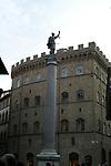 Piazza di Santa Trinita,Florence,Italy