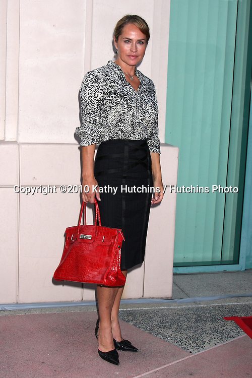 """LOS ANGELES - SEP 28:  Crystal Chappell arrives at  """"Celebrating 45 Years of Days of Our Lives"""" at Academy of Television Arts & Sciences on September 28, 2010 in No. Hollywood, CA"""