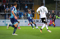 Jack Williams of Wycombe Wanderers during the Carabao Cup match between Wycombe Wanderers and Fulham at Adams Park, High Wycombe, England on 8 August 2017. Photo by Alan  Stanford / PRiME Media Images.