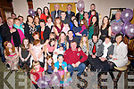 BABY: Baptised on Sunday in St John's Church, Causeway was Aubree M.J. Canty with her family Kieran,Maureen, Ciara Kate and Debra Canty and family and friends in Harty's Bar & Restaurant, Causeway after her christening.  ..