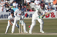 Ed Byrom in batting action for Somerset during Essex CCC vs Somerset CCC, Specsavers County Championship Division 1 Cricket at The Cloudfm County Ground on 26th June 2018