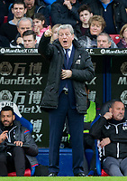 Crystal Palace Manager Roy Hodgson during the Premier League match between Crystal Palace and Manchester City at Selhurst Park, London, England on 31 December 2017. Photo by Andy Rowland.