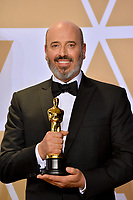 Mark Bridges at the 90th Academy Awards Awards at the Dolby Theartre, Hollywood, USA 04 March 2018<br /> Picture: Paul Smith/Featureflash/SilverHub 0208 004 5359 sales@silverhubmedia.com