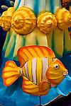 Silk Fish Lantern - Silk fish lantern, Clarke Quay, Singapore.