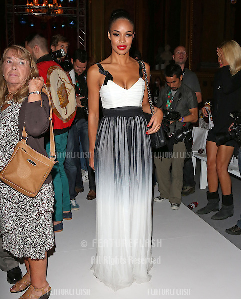 Sarah-Jane Crawford attending the PPQ catwalk show as part of London Fashion Week SS13 at Goldsmith's Hall, London. 14/09/2012 Picture by: Henry Harris / Featureflash
