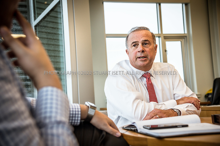 10/13/2016-- Seattle, WA, USA<br /> <br /> Harley Franco Founder, Chairman, Chief Executive Officer of Harley Marine Services, Inc. at the company&rsquo;s offices n Seattle, Washington.<br /> <br /> In early 1987, Harley Marine's Founder and current Chairman, Harley Franco, recognized the need for customer oriented marine transportation company in Puget sound. Mr. Franco started his business with one leased tug and barge under the name Olympic Tug &amp; Barge, Inc. and slowly built the company by instituting, and, in some cases, pioneering quality operating, procedures and safety and environmental protection standards. <br /> <br /> <br /> Photograph by Stuart Isett. &copy;2016 Stuart Isett. All rights reserved.