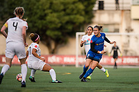 Seattle, WA - Sunday, September 24th, 2017: Christine Nairn during a regular season National Women's Soccer League (NWSL) match between the Seattle Reign FC and FC Kansas City at Memorial Stadium.
