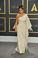 LOS ANGELES, USA. February 09, 2020: Salma Hayek at the 92nd Academy Awards at the Dolby Theatre.<br /> Picture: Paul Smith/Featureflash