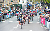 Picture by SWpix.com 04/05/2018 - Cycling Asda Women's Tour de Yorkshire - Stage 2 Barnsley to Ilkley - The peloton passes through Ilkley.