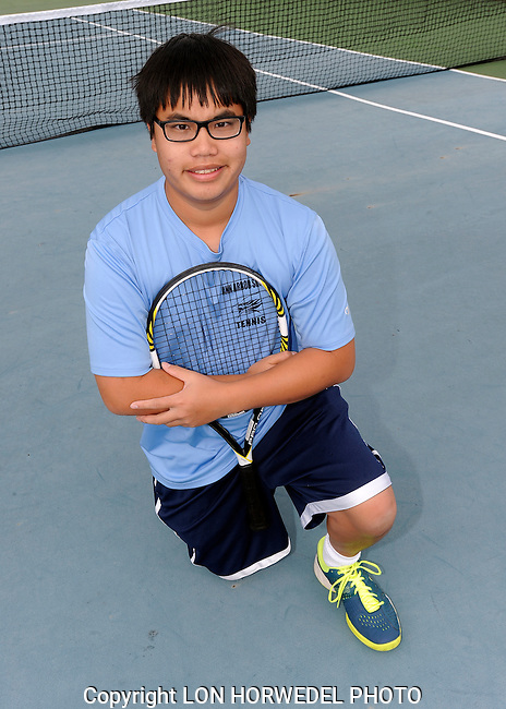 Skyline High School boy's junior varsity tennis team, 10-7-14.