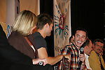 Kim Zimmer - Jeff Branson - Tom Pelphrey - So Long Springfield event celebrating 7 wonderful decades of Guiding Light which brought out Guiding Light Actors as they  came to see fans at the Hyatt Regency in Pittsburgh, PA. for Q & A, acting scenes between actors and fans by GL finest during the weekend of October 25, 2009. (Photo by Sue Coflin/Max Photos)