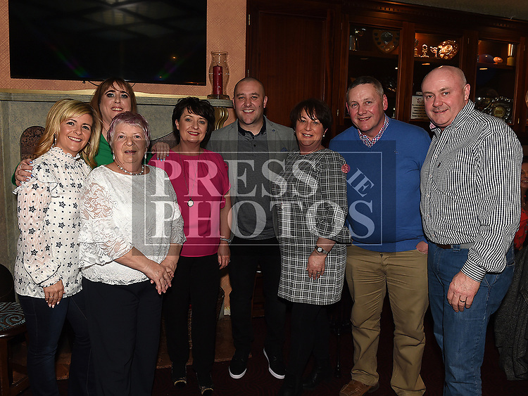 Chris Branigan celebrating his 40th birthday in the Thatch with his family. Photo:Colin Bell/pressphotos.ie