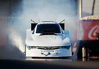 Feb 1, 2018; Chandler, AZ, USA; NHRA funny car driver Richard Townsend during Nitro Spring Training pre season testing at Wild Horse Pass Motorsports Park. Mandatory Credit: Mark J. Rebilas-USA TODAY Sports