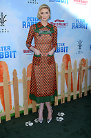 "LOS ANGELES - FEB 3:  Elizabeth Debicki at the ""Peter Rabbit"" Premiere at the Pacific Theaters at The Grove on February 3, 2018 in Los Angeles, CA"