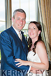 Hayley Bennett, Edinburgh, Scotland, son of Steve and June, and John Fitzpatrick, Baslican, Waterville, daughter of Eileen and the late Patrick, who were married in the Dunloe Castle Hotel on Friday, best man was Brian Fitzpatrick, groomsmen were Shane Murphy and Mike Danagher, bridesmaids were Siobhan Fitzpatrick, Alsion Criddle and Clare Waple, flowergril was Aimee Dobson, the couple will reside in Edinburgh