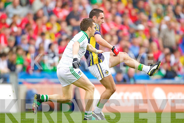 Declan O'Sullivan Kerry v  Limerick in the All Ireland Quarter Finals at Croke Park on Sunday.