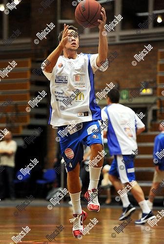 2011-08-13 / Basketbal / seizoen 2011-2012 / Kangoeroes Boom - Kabo / Deroover Terry..Foto: Mpics