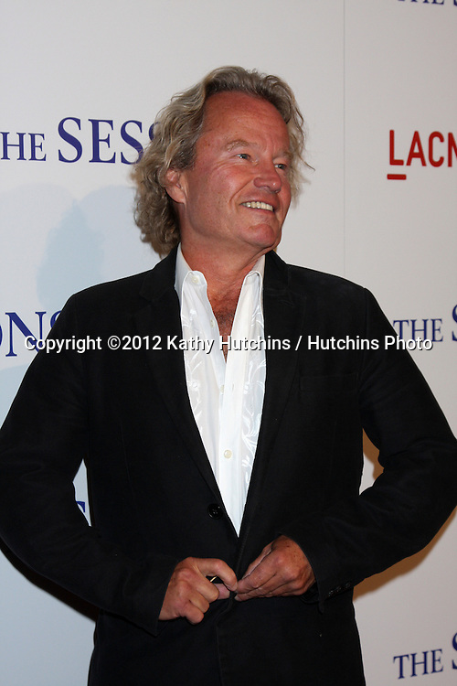 """LOS ANGELES - OCT 10:  John Savage arrives at the """"The Sessions"""" Los Angeles Premiere at Bing Theater at Los Angeles Museum of Art on October 10, 2012 in Los Angeles, CA"""