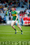 Eddie Horan Kerry in action against  Louth in the All Ireland Minor Football Quarter Finals at O'Moore Park, Portlaoise on Saturday.