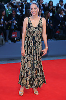 Carmen Chaplin attends the red carpet for the Kineo Award, during the 72nd Venice Film Festival at the Palazzo Del Cinema in Venice, Italy, September 6, 2015.<br /> UPDATE IMAGES PRESS/Stephen Richie