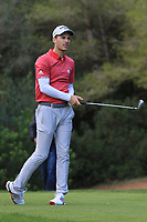 Matthew Jordan (ENG) on the 5th tee during Round 3 of the Challenge Tour Grand Final 2019 at Club de Golf Alcanada, Port d'Alcúdia, Mallorca, Spain on Saturday 9th November 2019.<br /> Picture:  Thos Caffrey / Golffile<br /> <br /> All photo usage must carry mandatory copyright credit (© Golffile | Thos Caffrey)