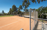 Bell Softball Field, Athletics facility, Sept. 16, 2016.<br />