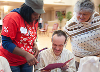 Target employees volunteer at Misercordia in Chicago for Chicago Cares MLK Celebration of Service day.  Over 3000 Target employees participated in service around Chicago