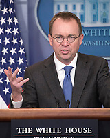 White House Director of Legislative Affairs Marc Short Press Briefing