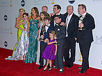 """MODERN FAMILY CAST(Winner Comedy Series)  64TH PRIME TIME EMMY AWARDS.Nokia Theatre Live, Los Angelees_23/09/2012.Mandatory Credit Photo: ©Dias/NEWSPIX INTERNATIONAL..**ALL FEES PAYABLE TO: """"NEWSPIX INTERNATIONAL""""**..IMMEDIATE CONFIRMATION OF USAGE REQUIRED:.Newspix International, 31 Chinnery Hill, Bishop's Stortford, ENGLAND CM23 3PS.Tel:+441279 324672  ; Fax: +441279656877.Mobile:  07775681153.e-mail: info@newspixinternational.co.uk"""