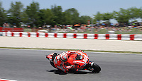 15.06.2013 Barcelona, Spain. Aperol  Catalonia Grand Prix. Picture show Nicky Hayden ridding Ducati during MotoGP qualifyng at Circuit de Catalunya