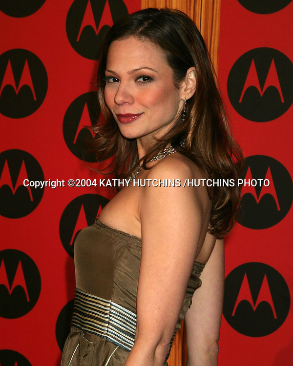 ©2004 KATHY HUTCHINS /HUTCHINS PHOTO.MOTOROLA 6TH ANNIVERSARY PARTY.HOLLYWOOD, CA.DECEMBER 2, 2004..TAMARA BRAUN.