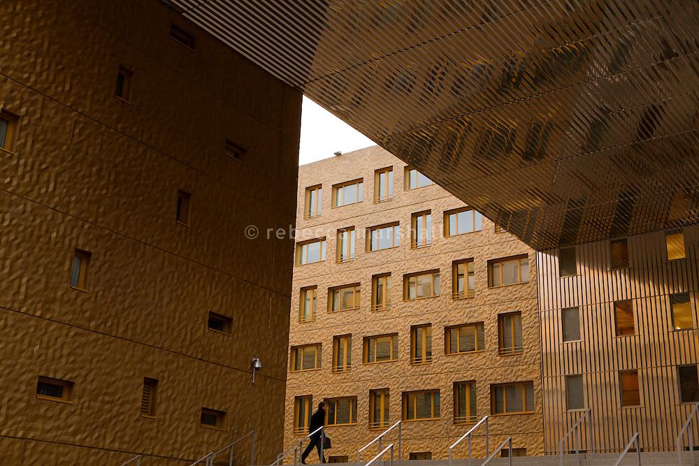 La Confluence dockland district, Lyon, France, 16 January 2012