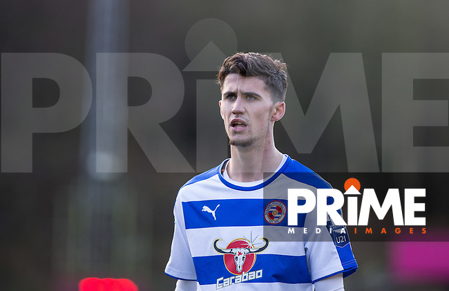 Shane Griffin of Reading during the Barclays U21 Premier League match between Reading and Everton at Adams Park, High Wycombe, England on 9 December 2015. Photo by Andy Rowland.
