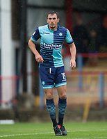 Will De Havilland of Wycombe Wanderers during the pre season friendly match between Aldershot Town and Wycombe Wanderers at the EBB Stadium, Aldershot, England on 22 July 2017. Photo by Andy Rowland.