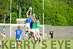 KOR's Gavin O'Brien gets the Jump in the Credit Union County Senior Football League Div. 1 Kerins O'Rahilys Vs Kilcummin at Strand Road GAA Ground on Friday