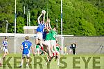 KOR's Gavin O'Brien gets the Jump in the Credit Union County Senior Football League Div. 1 Kerins O'Rahilys Vs Kilcummin at Strand Road GAA Ground on Friday