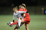 SALEM, VA - DECEMBER 3:Marisa Weaver (10) battles for the ball during theDivision III Women's Soccer Championship held at Kerr Stadium on December 3, 2016 in Salem, Virginia. Washington St Louis defeated Messiah 5-4 in PKs for the national title. (Photo by Kelsey Grant/NCAA Photos)