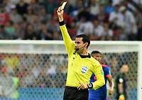 KAZAN - RUSIA, 24-06-2018: Cesar Arturo Ramos (MEX), arbitro, durante partido de la primera fase, Grupo H, entre Polonia y Colombia por la Copa Mundial de la FIFA Rusia 2018 jugado en el estadio Kazan Arena en Kazán, Rusia. / Cesar Arturo Ramos (MEX), referee,  during the match between Polonia and Colombia of the first phase, Group H, for the FIFA World Cup Russia 2018 played at Kazan Arena stadium in Kazan, Russia. Photo: VizzorImage / Julian Medina / Cont